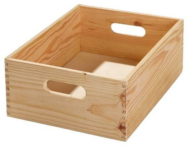 Où Trouver : Caisse en bois gamm vert : caisse en bois grande dimension deco 1
