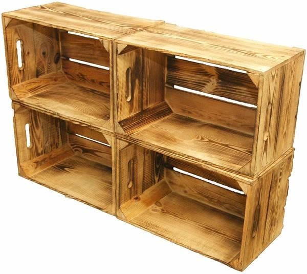 Où Trouver : Caisse à vin en bois doccasion ou caisse a pomme etagere offre
