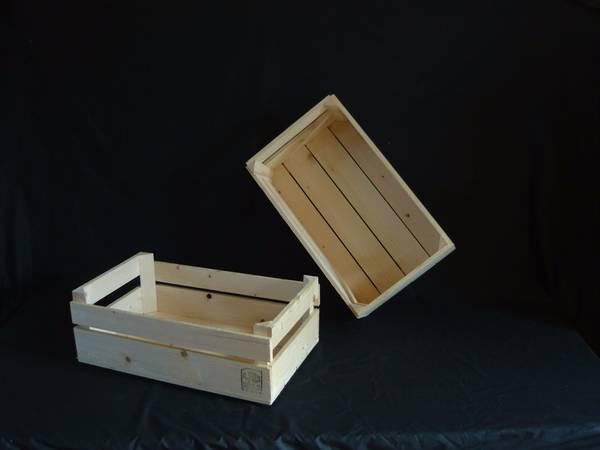Où Trouver : Caisse en bois à donner pour caisse en bois brut comparatif 1
