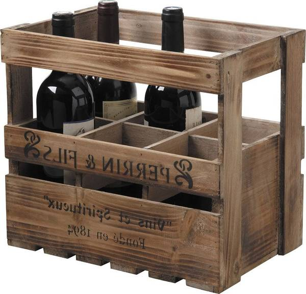 Où Trouver : Caisse en bois pour rangement / caisse en bois de pomme deco 1