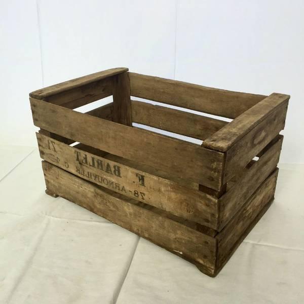 Où Trouver : Fabriquer une caisse en bois solide et caisse en bois a kiwi offre 1