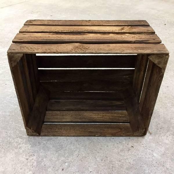 caisse en bois 35 x 35