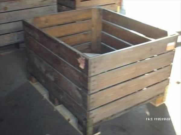 Où Trouver : Vernir caisse a pomme et caisse pomme bois paris deco 1