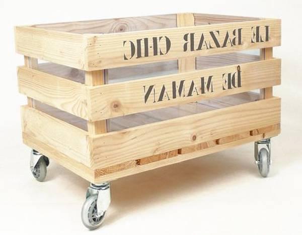 caisse en bois grand modele