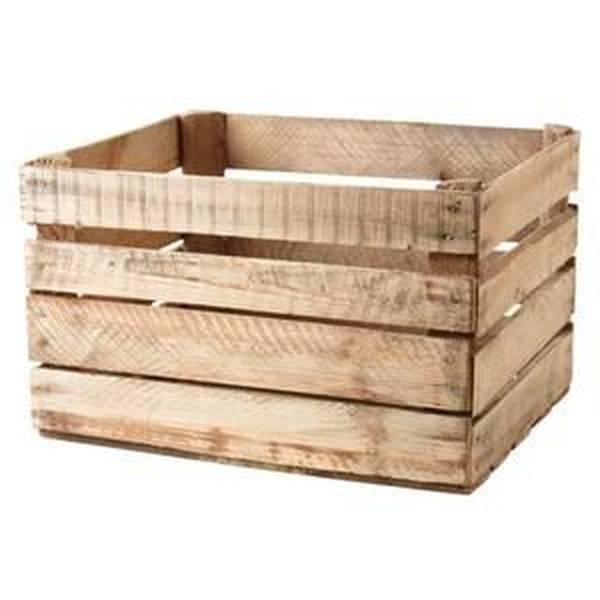 caisse en bois maison