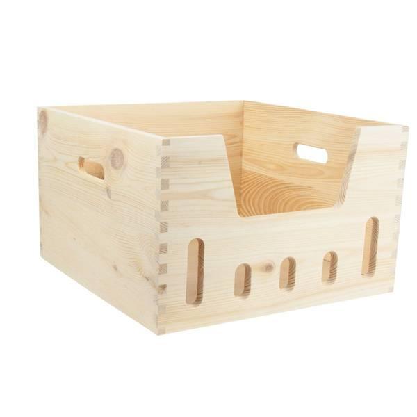 Acheter Caisse a pomme diy pour transformer caisse bois en jardiniere vintage 1