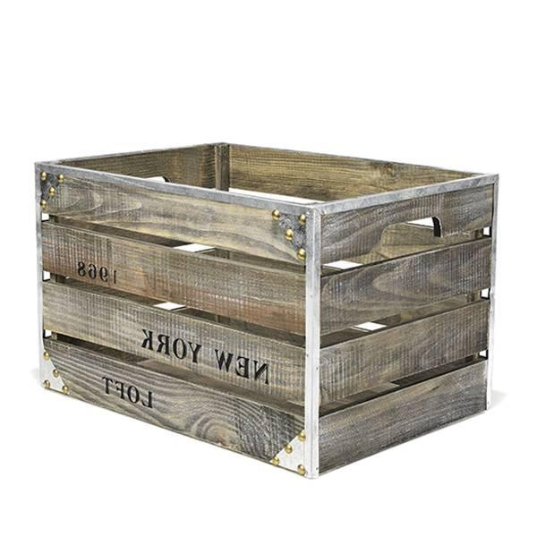 Où Trouver : Grande caisse a pomme / caisse en bois mariage vintage 1