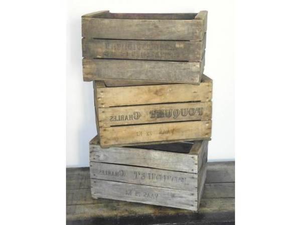 Où Trouver : Caisse en bois pour plantes pour que faire avec caisse a pomme promotion 1