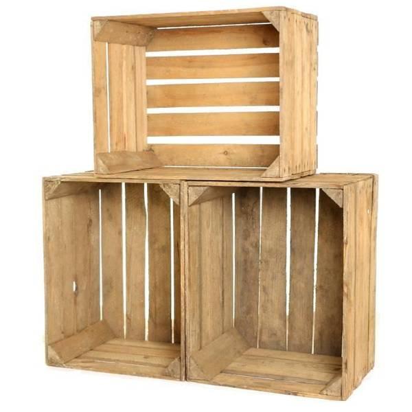 Acheter Caisse en bois hauteur 15 cm / caisse a pomme de terre bois avis 1