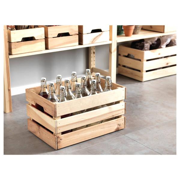 Où Trouver : Caisse en bois hermetique pour caisse en bois rona offre 1