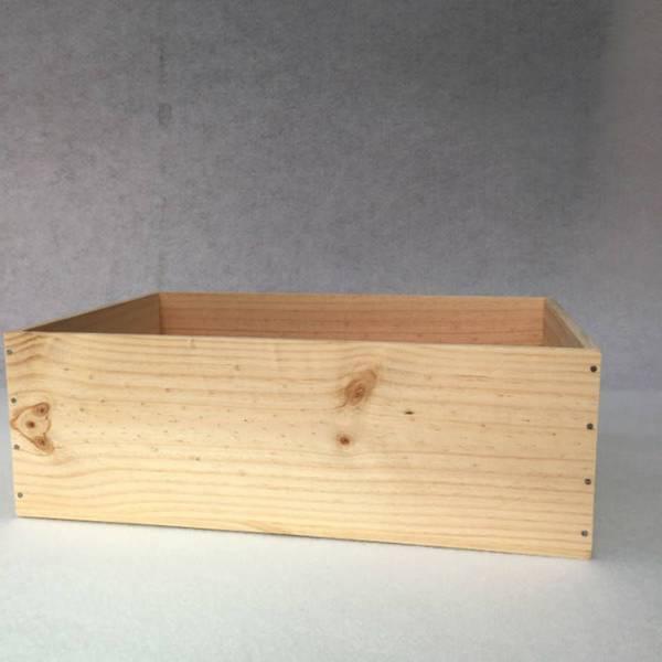 Acheter Caisse en bois en palette : caisse en bois non traité comparatif 1