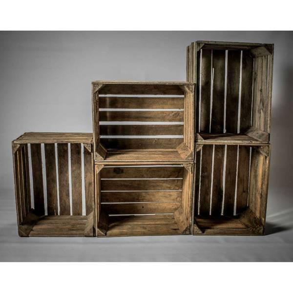 Acheter Caisse a pomme deco mariage et caisse en bois simply a box vintage 1