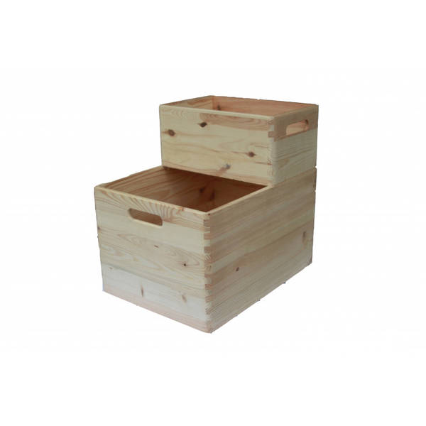 caisse à pomme en bois truffaut