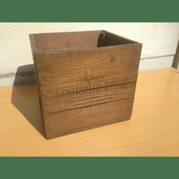 caisse en bois knagglig