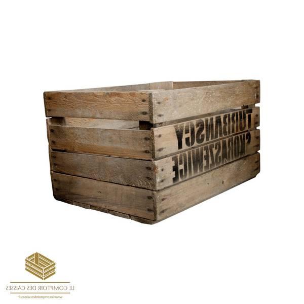 Où Trouver : Caisse en bois export : caisse a pomme vintage avis 1