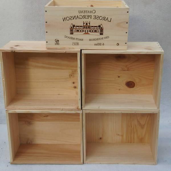 Acheter Caisses en bois fournisseur et caisse en bois bouteille de vin offre 1