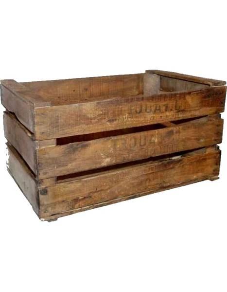 caisse en bois rona
