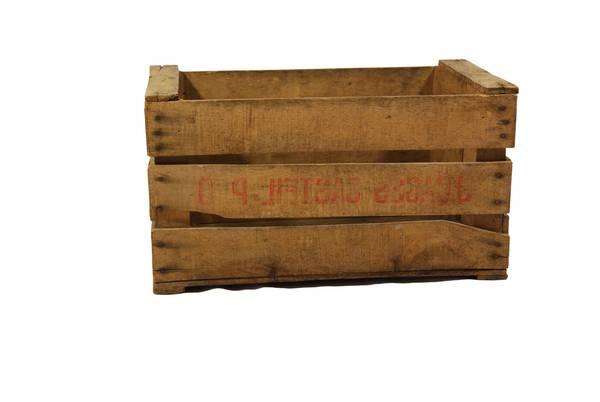 Où Trouver : Caisse en bois table basse : caisse a pomme table basse vintage 1