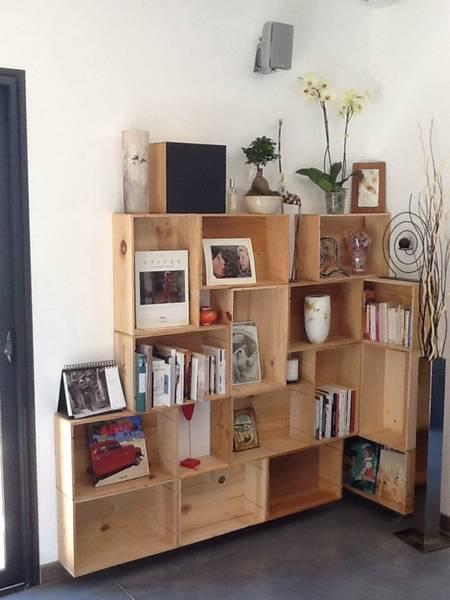Où Trouver : Caisse en bois personnalisable pour caisse en bois pour plantes vintage 1