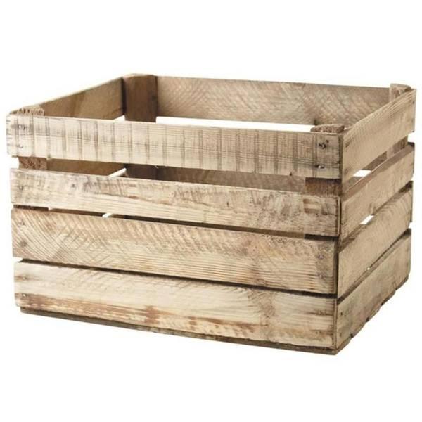 Acheter Caisse en bois bordeaux : acheter caisse à pommes vintage 1