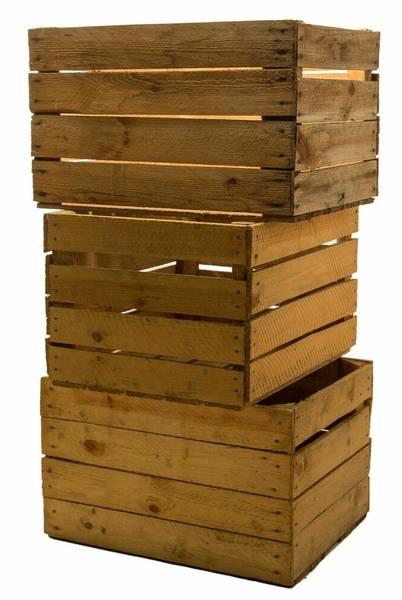 caisse en bois tableau