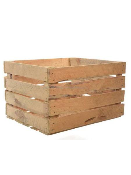 caisse en bois retro