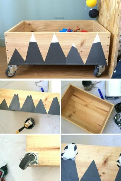fabriquer une caisse en bois solide