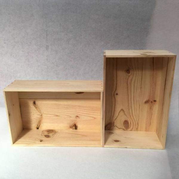Acheter Comment nettoyer caisse en bois : caisse en bois manomano deco 1