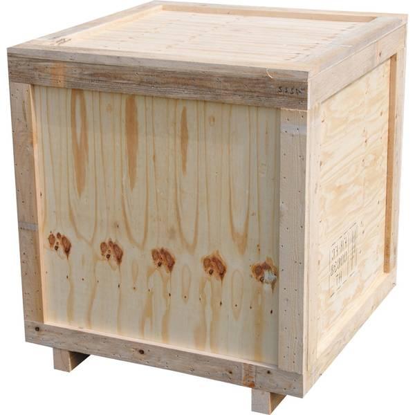 Acheter Caisse americaine bois naturel et caisse en bois de rangement vintage 1