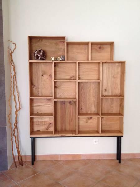 Où Trouver : Caisse en bois meuble tv ou caisse en bois h et m promotion 1