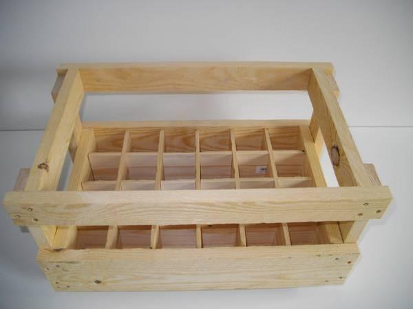 Où Trouver : Caisse en bois fabrication ou caisse en bois blanc ikea vintage 1