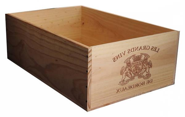 Acheter Caisse en bois rangement leroy merlin : fabriquer une caisse en bois deco 1