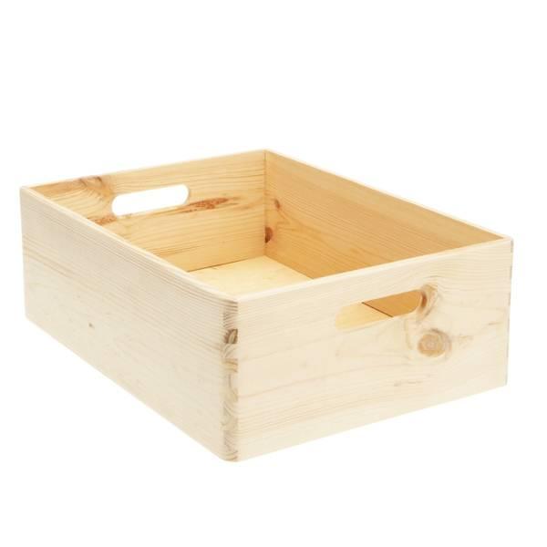 Où Trouver : Caisse en bois knagglig ikea ou caisse a pomme bibliotheque deco 1