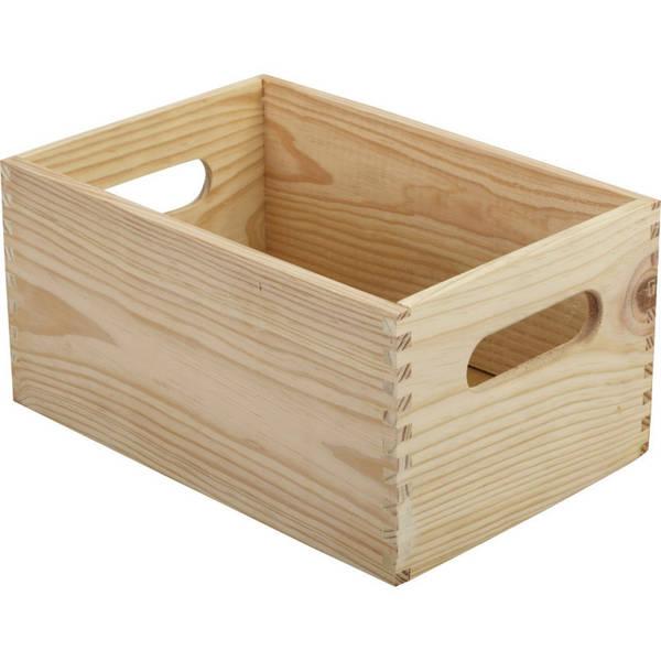 caisse en bois sans fond