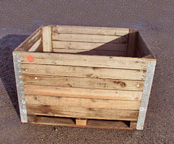 Acheter Caisse vin en bois gratuite ou caisse en bois ancienne le bon coin vintage 1
