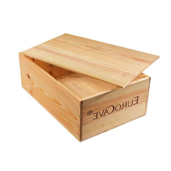 Acheter Caisse en bois alinea et caisse en bois saq vintage 1