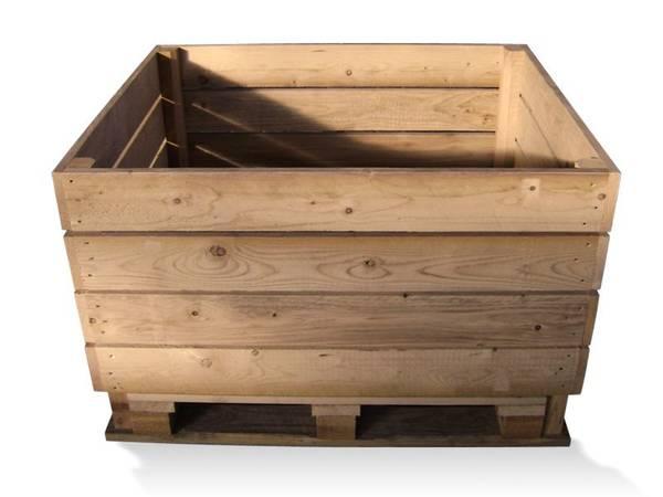 caisse en bois hornbach