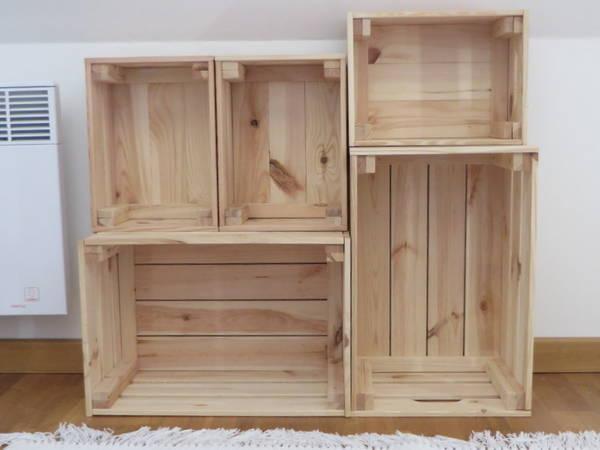 Acheter Caisse en bois fabrication et fabriquer une caisse en bois de palette offre 1