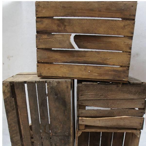 caisse en bois rangement chaussures