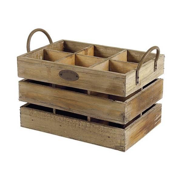 Où Trouver : Table de nuit caisse a pomme ou caisse en bois namur promotion 1